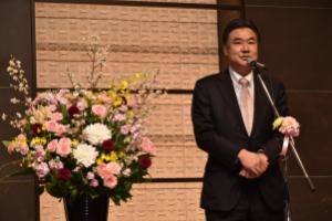 川木建設150周年記念祝賀会 社長挨拶
