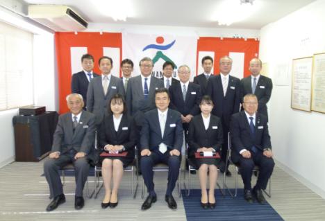 カワモクグループ 平成31年度入社式 川木建設